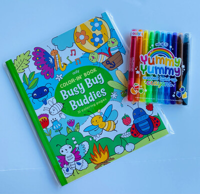 Color-In Coloring Books