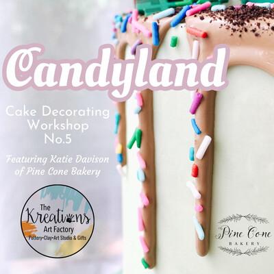 Cake Decorating Workshop No.5-Candyland