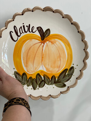 🍂FALL 🦃Themed-Custom Handprints on Pottery Event- August 28th