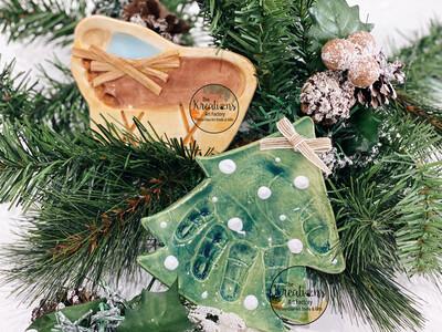 Clay Imprint Ornament Set 2021