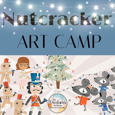 Nutcracker Art Camp-Nov.22 & 23rd 9-1pm