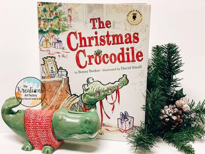 🐊 Christmas Crocodile-Paint Along Series 12/4-10:30am