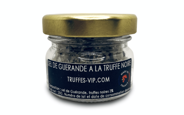 Guérande salt with black truffle (20g)