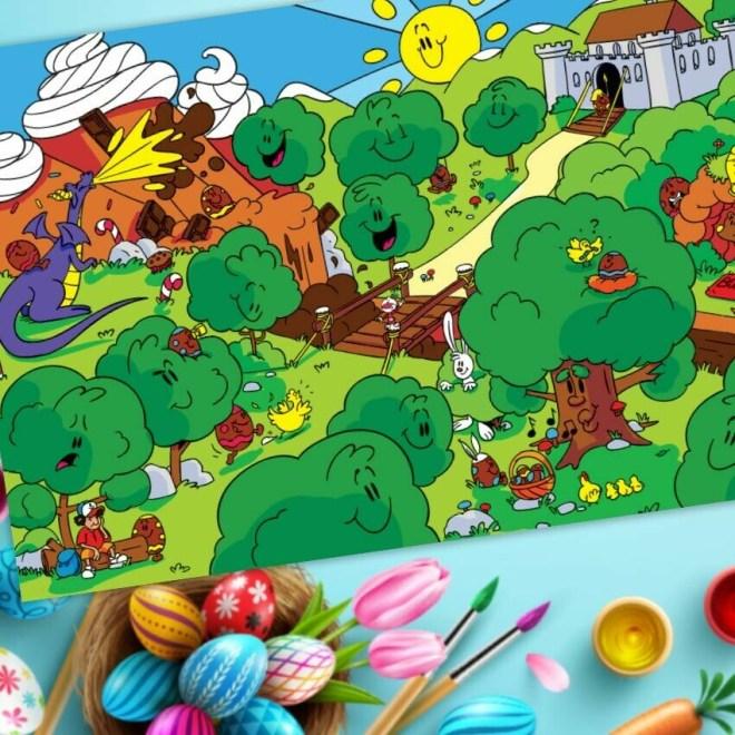 Trouver Piwooz - Le Piwooz de Pâques