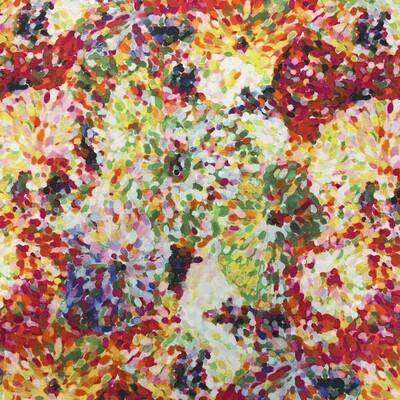 Impressionist Floral 3-Yard Precut 108