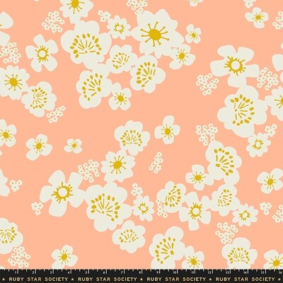 Peach Whatnot 3-Yard Precut 108
