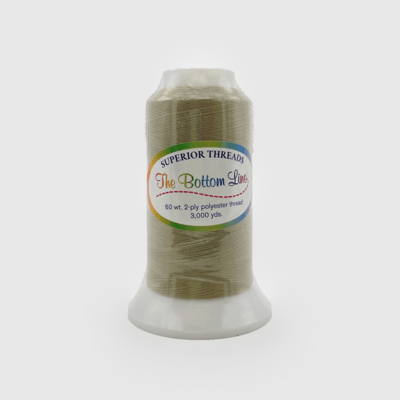 The Bottom Line Quilting Thread #617 Taupe
