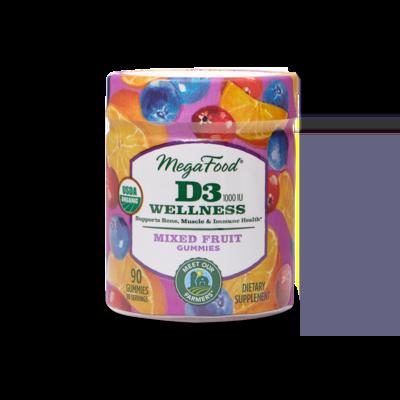 Megafood D3 Gummies 90serv