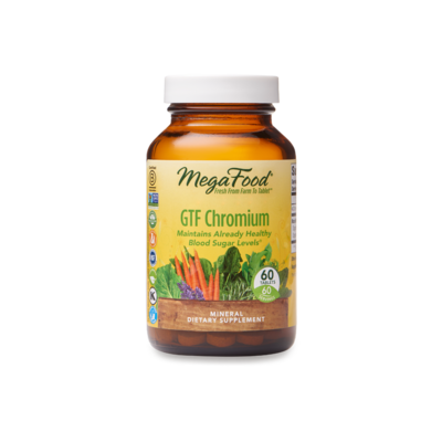 Megafood GTF Chromium 60tab