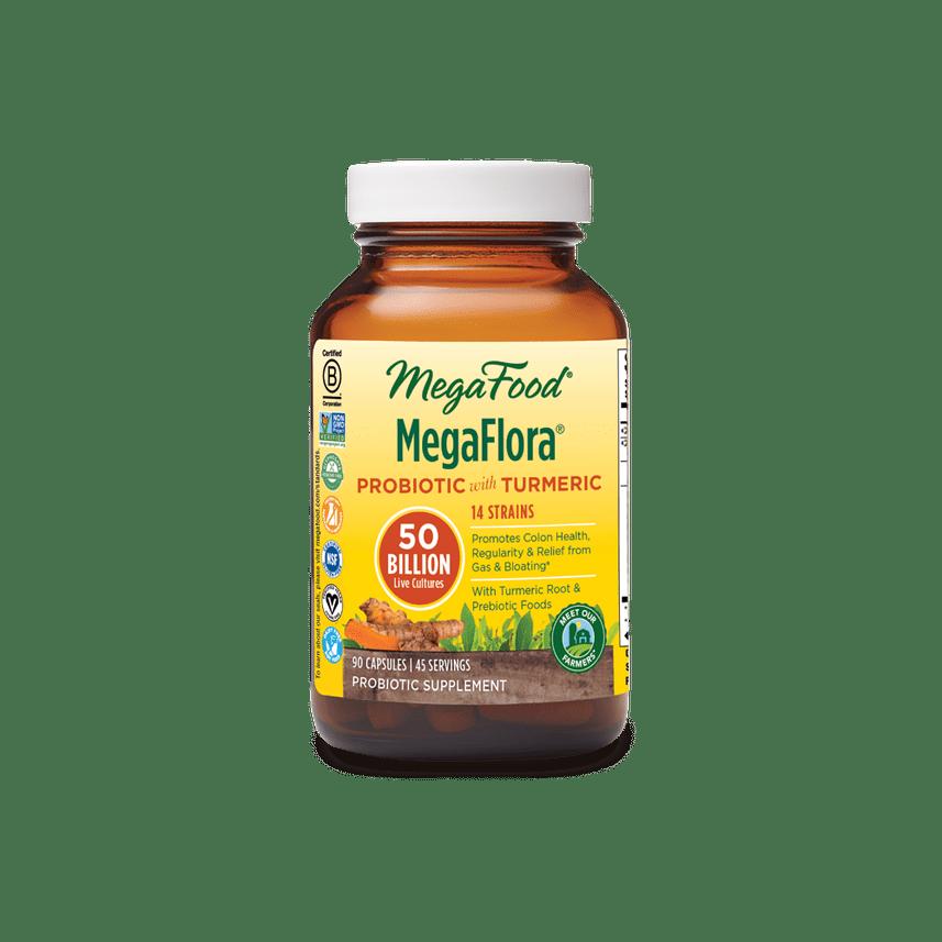 Megafood Megaflora Turmeric 50BIL 90cap