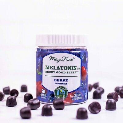 Megafood Melatonin Gummies 45serv