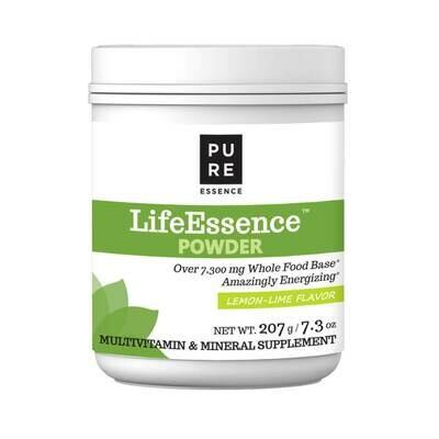 Pure Essence Life Essence Powder Lemon Lime Multi