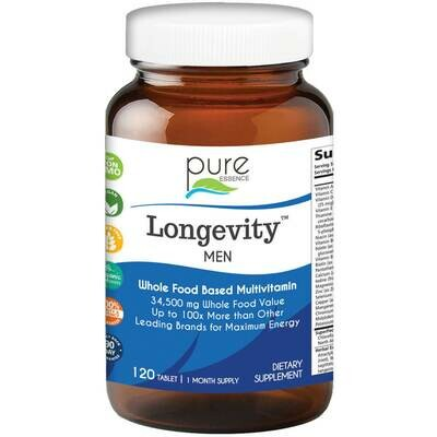 Pure Essence Longevity Men 120tab