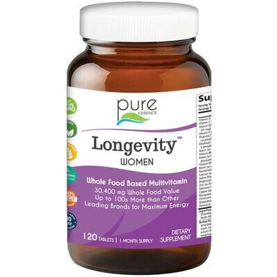 Pure Essence Longevity Women 120tab