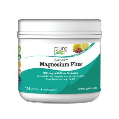 Pure Essence Magnesium Plus 2 Month Rasp Lemon