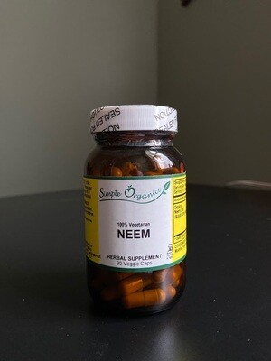 Simple Organics Neem 90cap