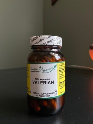 Simple Organics Valerian 90cap