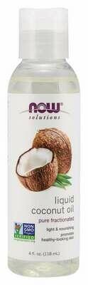Now Liquid Coconut Oil 4oz