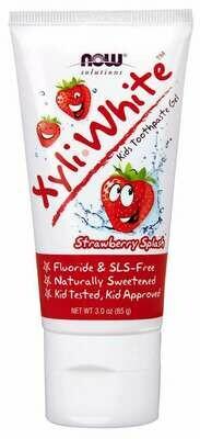NOW Xyliwhite- Kids Strawberry Toothpaste 3oz