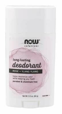 Now Deodorant Rose Ylang Ylang 2.2oz