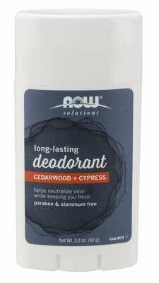 Now Deodorant Cedarwood Cypress 2.2oz