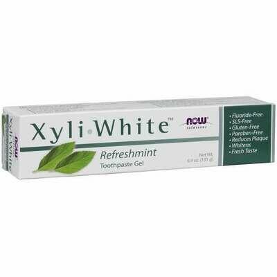 NOW Xyliwhite- Refreshmint Toothpaste 6.4oz