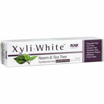 NOW Xyliwhite- Neem Tea Tree 6.4oz