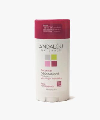 Andalou Deodorant Rose 2.65oz