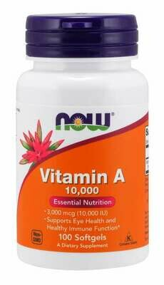 Now Foods Vitamin A 10,000 (100)