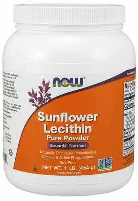 NOW sunflower lecithin powder 1#