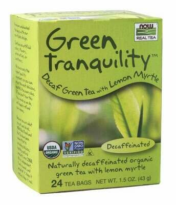 NOW Tea Green Tranquility 24ct