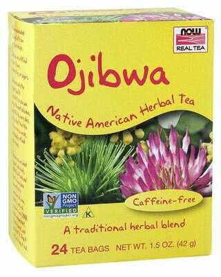 NOW Tea Ojibwa 24ct