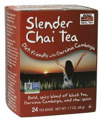NOW Tea Slender Chai 24ct