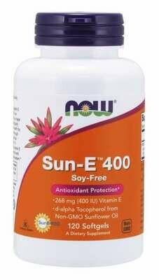 NOW Sun E 400 120sgel