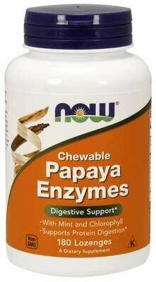 NOW Papaya Enzymes 180chew