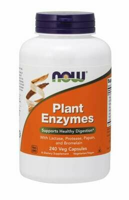 NOW Plant Enzymes 240cap