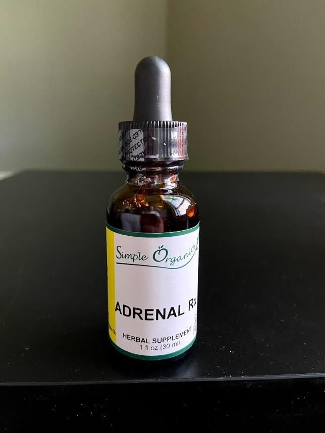 Simple Organics Adrenal Rx 1oz