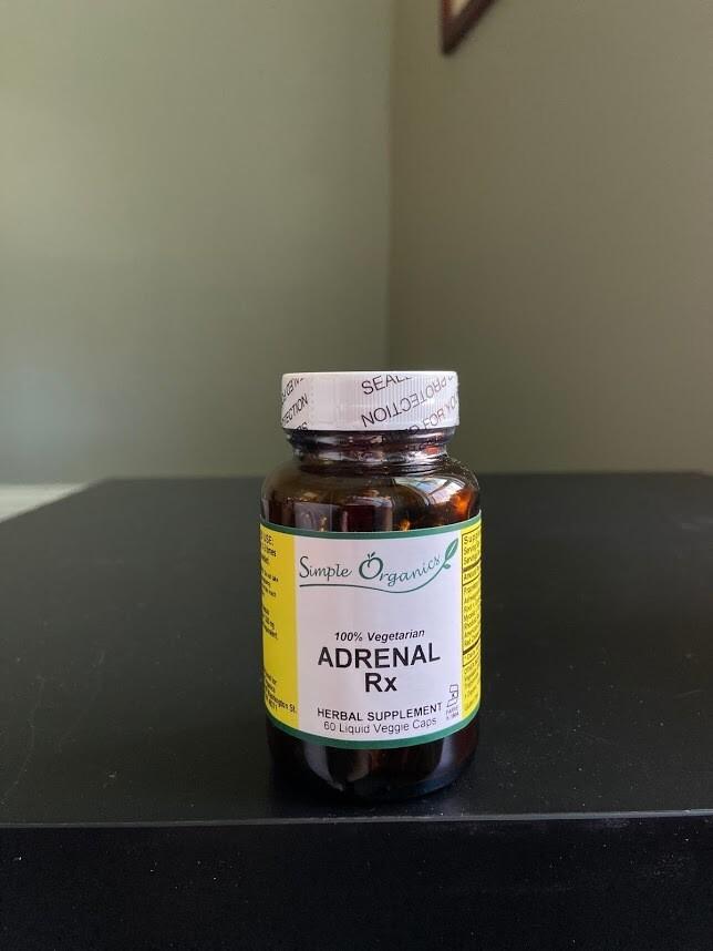 Simple Organics Adrenal RX 60 cap