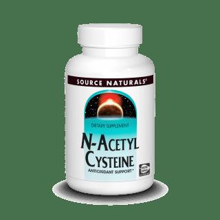 Source Naturals N-acetyl Cysteine 60 Tabs