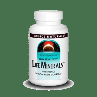 Source Naturals Life Minerals Iron 120tab