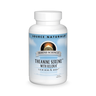 Source Naturals  Theanine Serene With Relora 60tab