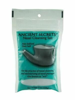 Ancient Secrets Neti Salt 8oz