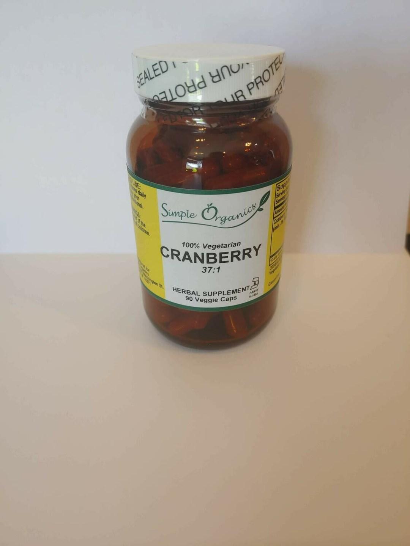 Simple Organics Cranberry 90cap