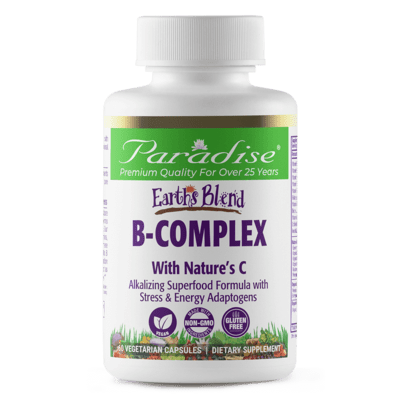 Paradise Herbs B Complex 60cap