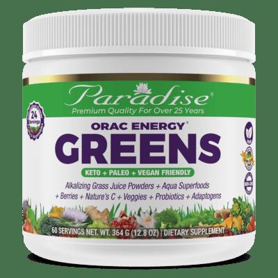 Paradise Herbs Orac Greens 30 Serving