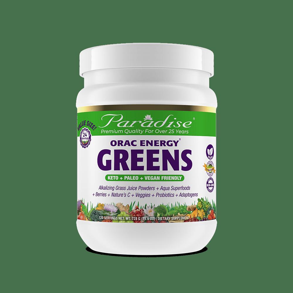 Paradise Herbs Orac Greens 60 Serv