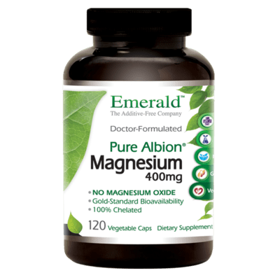 Emerald Labs Magnesium 400mg 120vcap