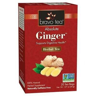 Bravo Ginger Tea 20ct