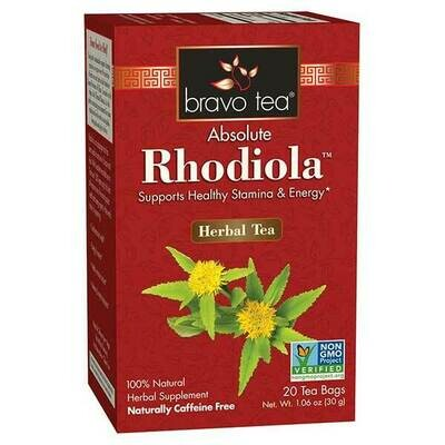 Bravo Rhodiola Tea 20ct