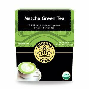 Buddha Tea Matcha Green 18ct